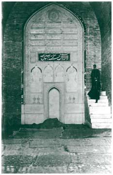 Михраб мечети Ходжи Ахрара