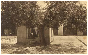 Место для кары во дворе мечети Ходжи Ахрара