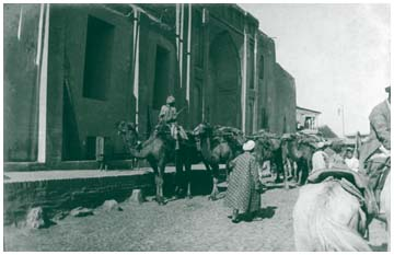 Медресе Ходжи Ахрара на улице Гуль-базар